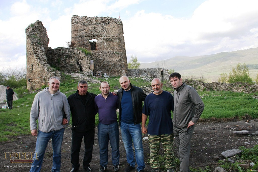 Вадим Ванеев на родине в Южной Осетии