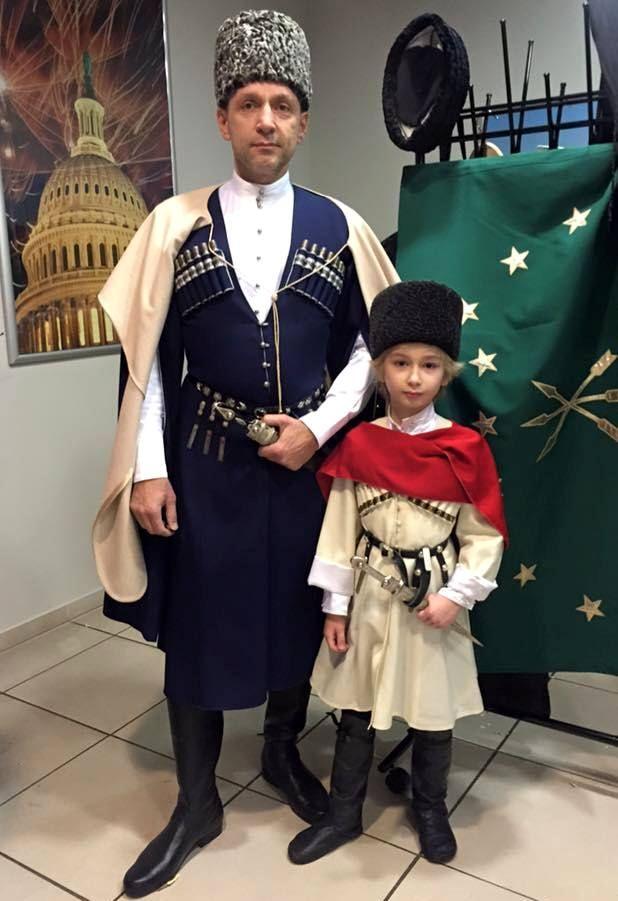 Анзор Кабардоков с сыном