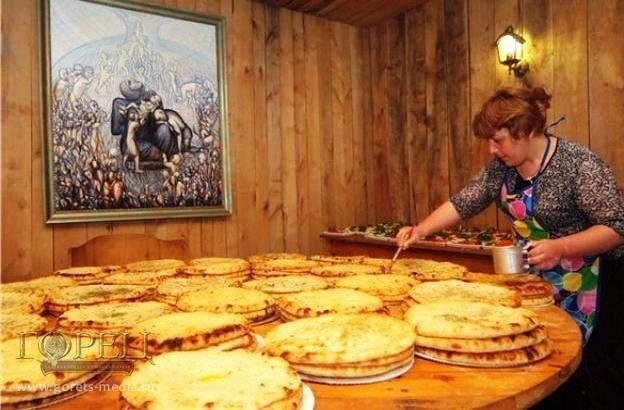 Осетинские пироги с пивом