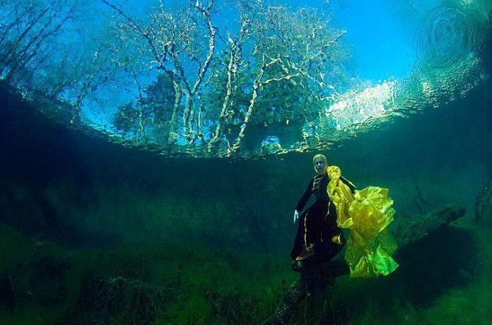 Голубое озеро в Кабардино-Балкарии оказалось глубже, чем считалось. Фото: Виктор Лягушкин