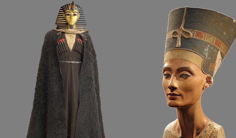 Ученые: Тутанхамон и другие фараоны оказались лицами кавказской национальности